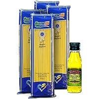 班提意大利面(直条型)500g*4赠伯爵特级初榨橄榄油125ml 土耳其进口意面