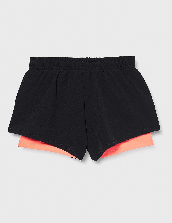 AURIQUE Shorts de Course Double /Épaisseur Femme Marque