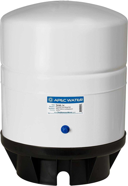 APEC Water Systems TANK-14 14 Gallon Pre-pressurized Reverse Osmosis Water Storage Tank