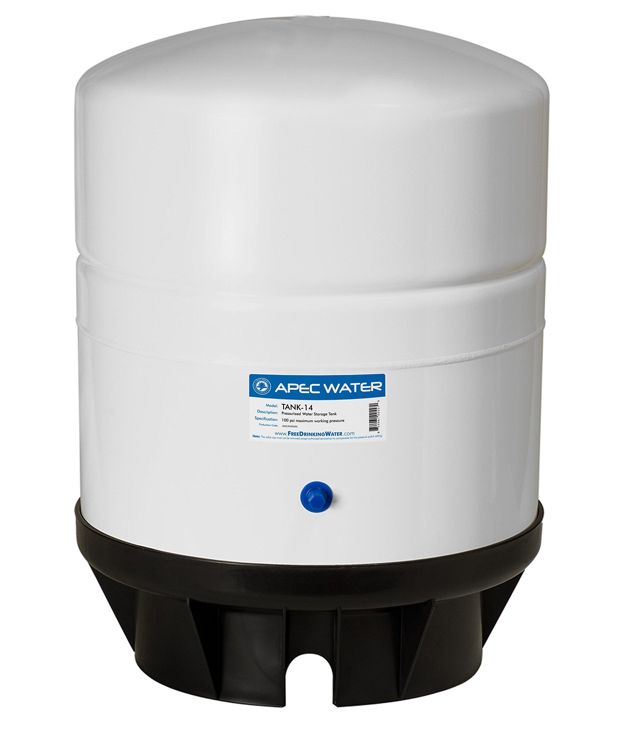 APEC TANK-14 14 Gallon Pre-Pressurized Reverse Osmosis Water Storage Tank