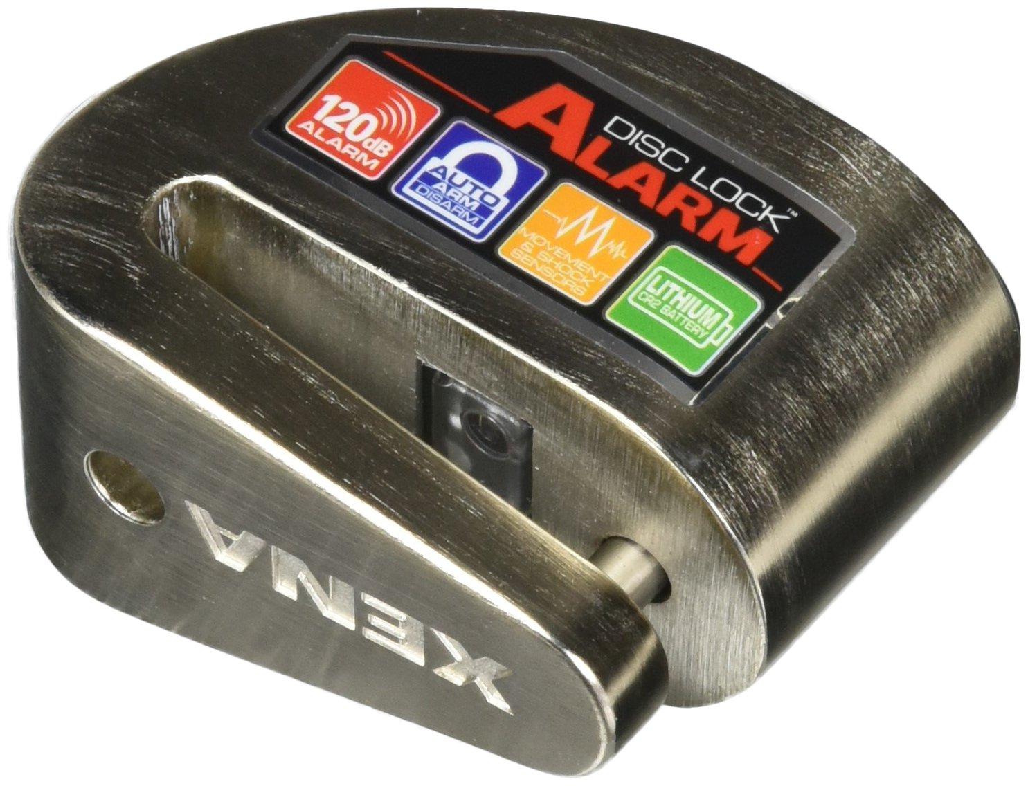 Xena (XZZ6L-SS Disc-Lock Alarm, Stainless Steel