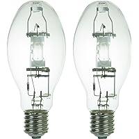 Sunlite MH250/U/MOG 250-Watt Metal Halide ED28 Bulb, Mogul Base, Clear (250 Watts 2 Pack)