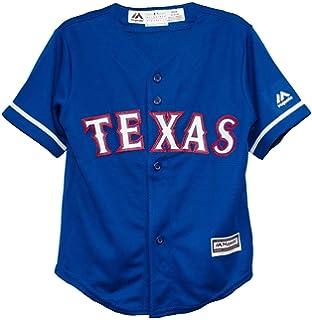 Amazon.com   Majestic Athletic Texas Rangers Home Cool Base Infant ... c271c20d4