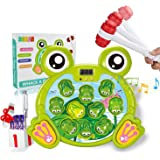 SOMAN Whack A Frog Game, Interactive Pounding Toy for Early Learning, Toys for 2, 3, 4, 5, 6, 7, 8 Year Old Boys, Fun Gifts w