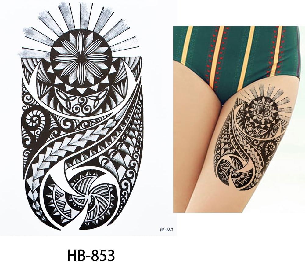 Tatuaje tribal para brazo de hombre, negro HB853 estilo Maorí ...