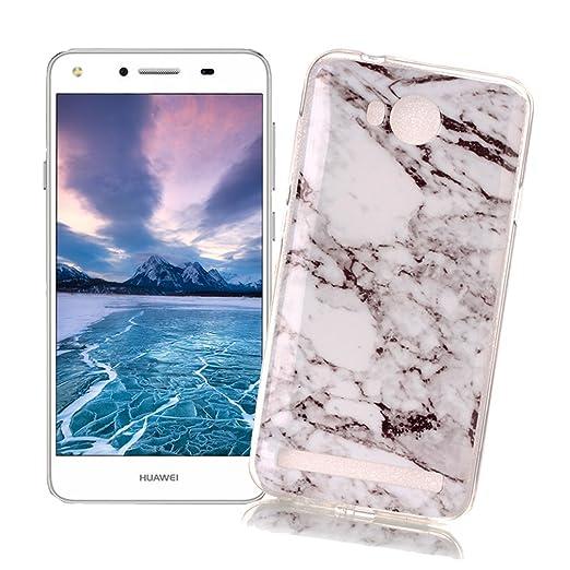 15 opinioni per Cover Huawei Y3 II/Y3 2 con Disegno di Marmo XiaoXiMi Custodia in TPU Silicone