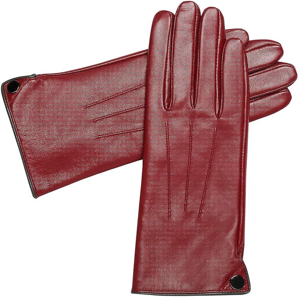Winter Genuine Leather...