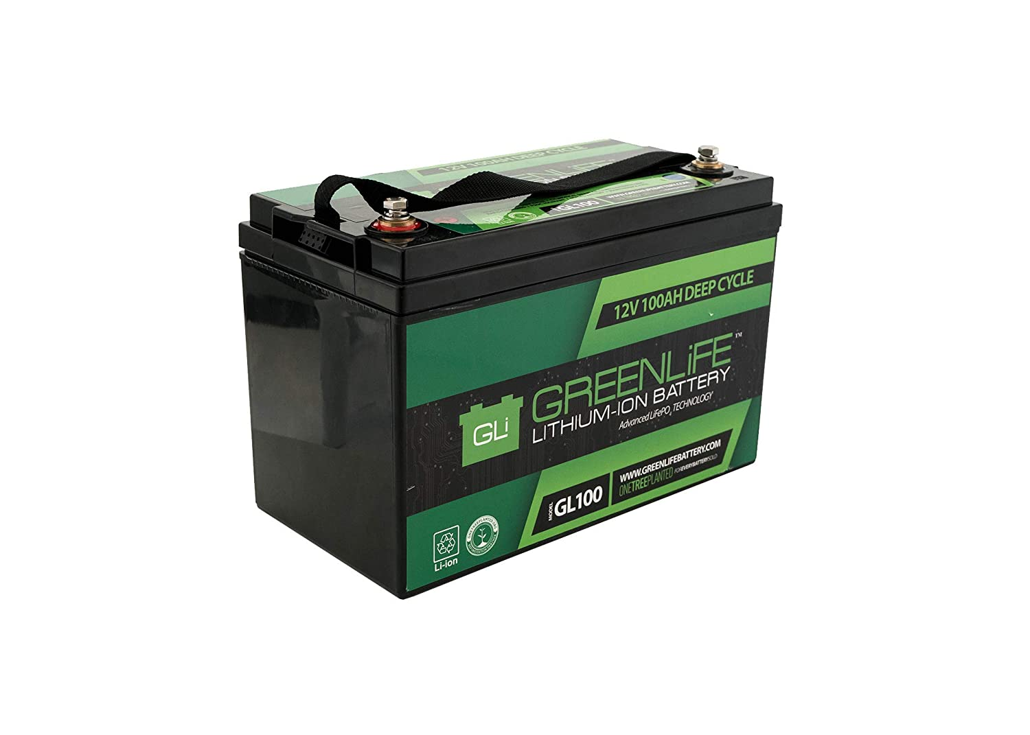 Lithium Ion Battery >> Greenlife Battery Gl100 100ah 12v Lithium Ion Battery