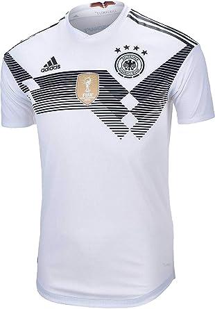 Amazon.com  Adidas Men s Germany Home Jersey 2018 White Black  Clothing bf5a354e6