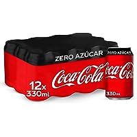 Coca-Cola Zero Azúcar Lata - 330 ml (Pack