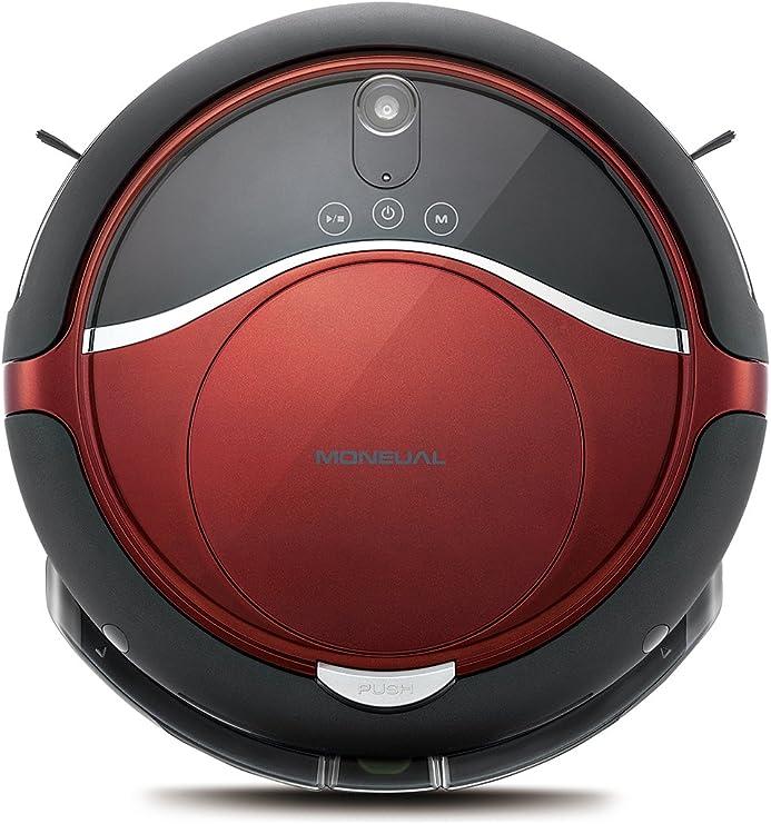Moneual Me770 Style Robot aspirador híbrido, 55 Decibelios, Rojo ...
