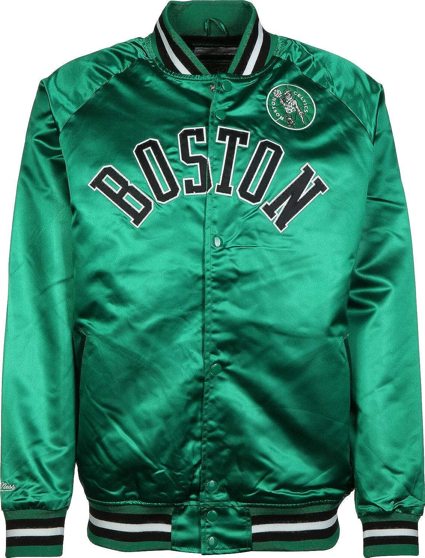 Mitchell & Ness NBA Satin Boston Celtics Chaqueta ...