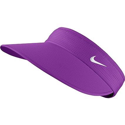 NEW Nike Michelle Wie Big Bill Purple/White Adjustable Ladies Visor/Hat