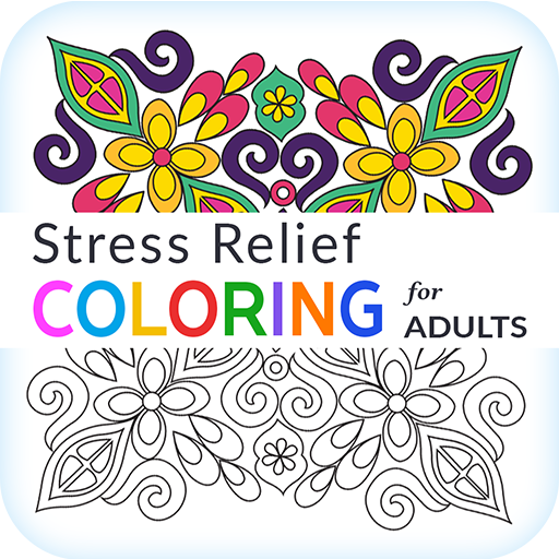 Stress Relief Adult Color Book product image