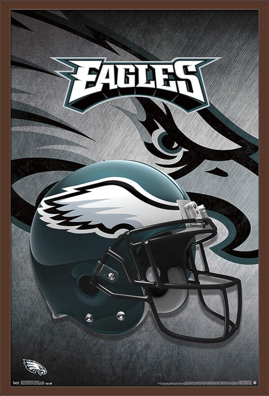 8954f21c Trends International Philadelphia Eagles Helmet Wall Poster 22.375