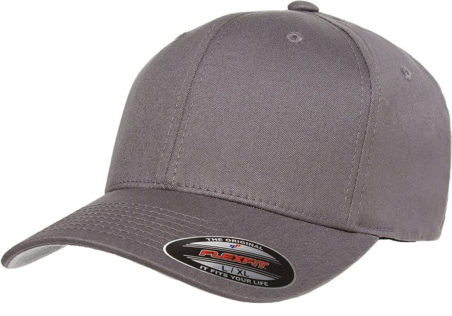 Flexfit 6-Panel Structured Mid-Profile Cotton Twill Cap (5001)