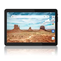 Tablet 10 inch, Android 8.1 Tablets PC, 16GB, 5G WiFi and Dual Camera, Support Wireless Keyboard, GPS, Bluetooth, 1280x800 IPS Display, Google Certified Tablets - Black