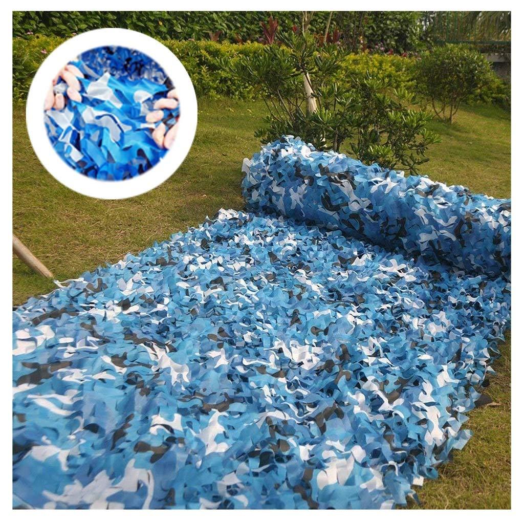 Garantía 100% de ajuste ZHhome rojo De De De Camuflaje azul rojo De Camuflaje Exterior De La Nieve Al Aire Libre Camuflaje Sombrilla Sombrilla Toldos para Patios Malla De Projoección Solar Malla De Jardín 2x3m 3x4m 1010M(32.832.8ft)  hasta un 65% de descuento