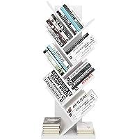 Homfa Estantería para Libros Librería de Árbol Estantería