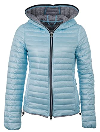 Hellblaue steppjacke damen