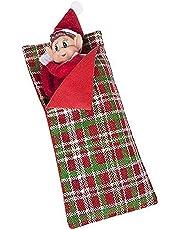 Hoolaroo VIP Elf Sleeping Bag with Pillow - VIP Elf For Christmas Accessory