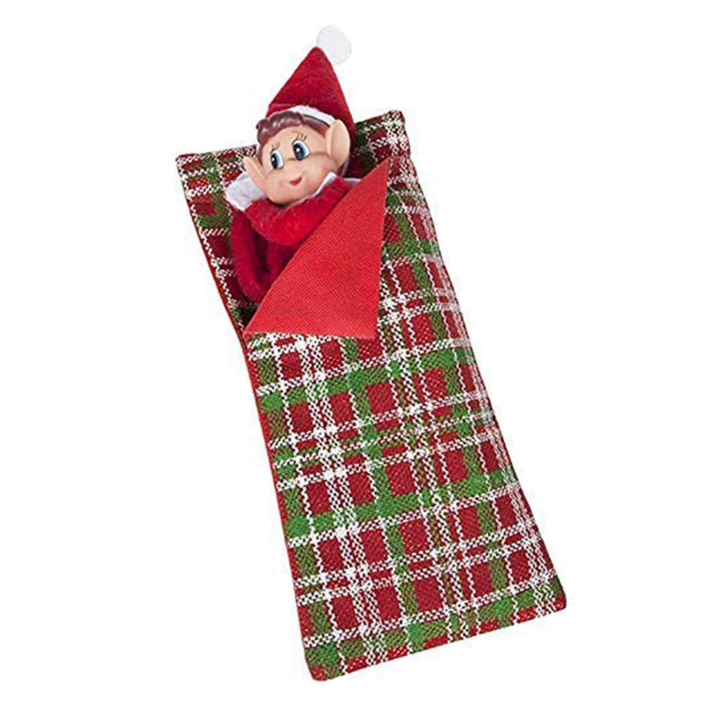 Hoolaroo VIP Elf Sleeping Bag with Pillow - VIP Elf For Christmas Accessory