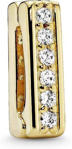 Amazon Com Pandora Jewelry Reflexions Clip Cubic Zirconia Charm Pandora Shine Jewelry