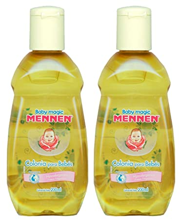 2 Baby Magic Mennen Cologne 6.76 Fl Oz (2 Colonias Mennen para Bebe 200 ml