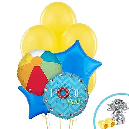 Amazon Birthday Express Kits Splashin Pool Party Balloon Bouquet Toys Games