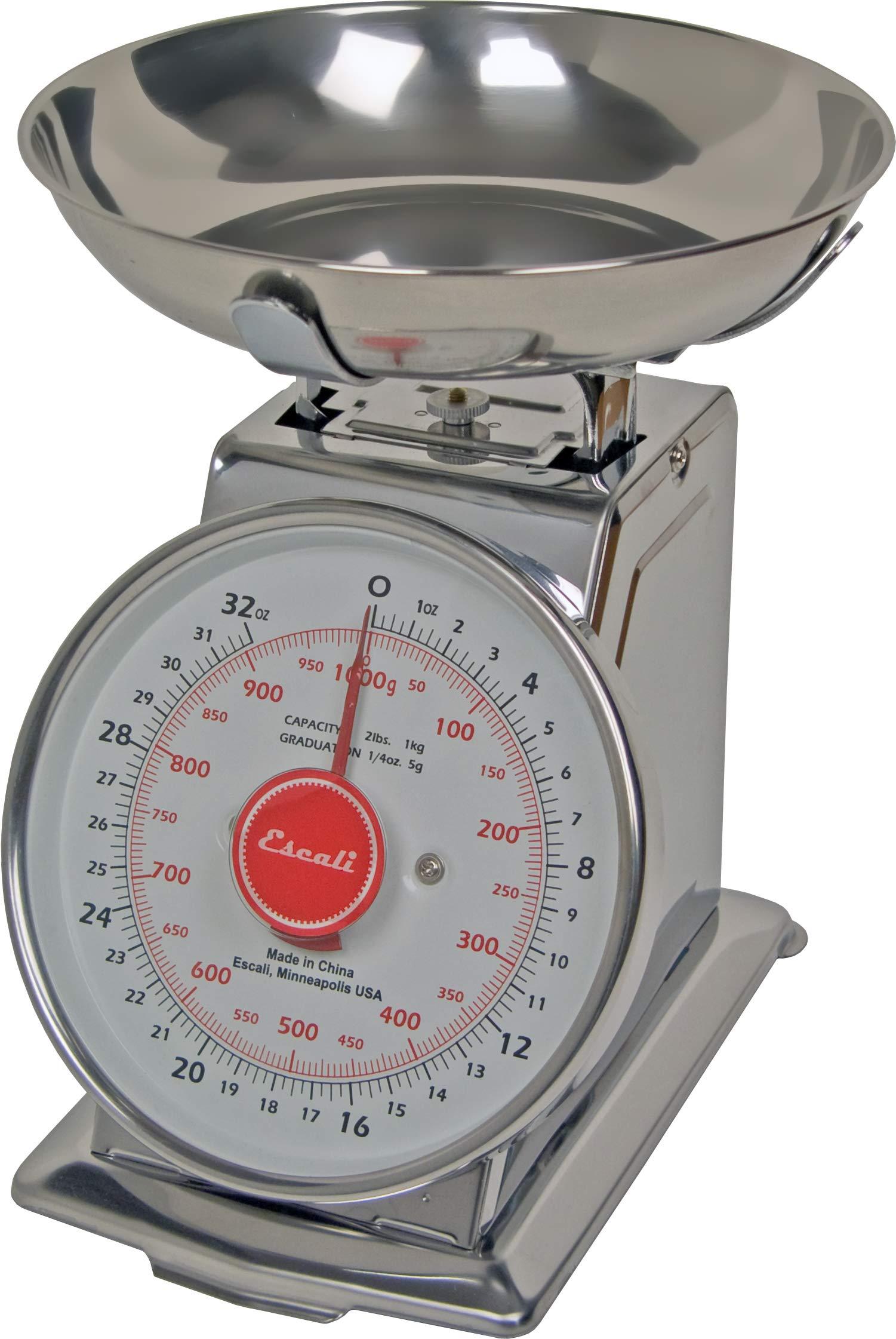 San Jamar SCDLB2 Mechanical Dial Scale, 2 Pound Capacity by San Jamar