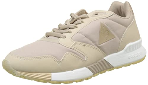 30bc17bcecf0 Le Coq Sportif Womens Metallic Moonlight Brown Omega X W Sneakers-UK ...