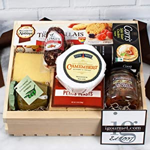Vegetarian Healthy Gift Basket - Assortment of vegetarian goods - Hand Selected By Our Chef's