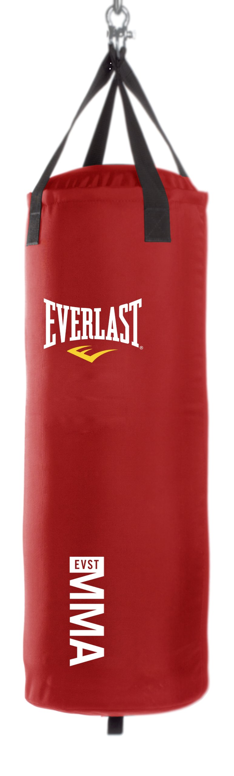 Everlast 70-Pound MMA Poly Canvas Heavy Bag (Red) by Everlast