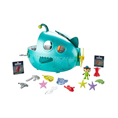 Fisher-Price Octonauts Gup-A Deluxe Playset: Toys & Games