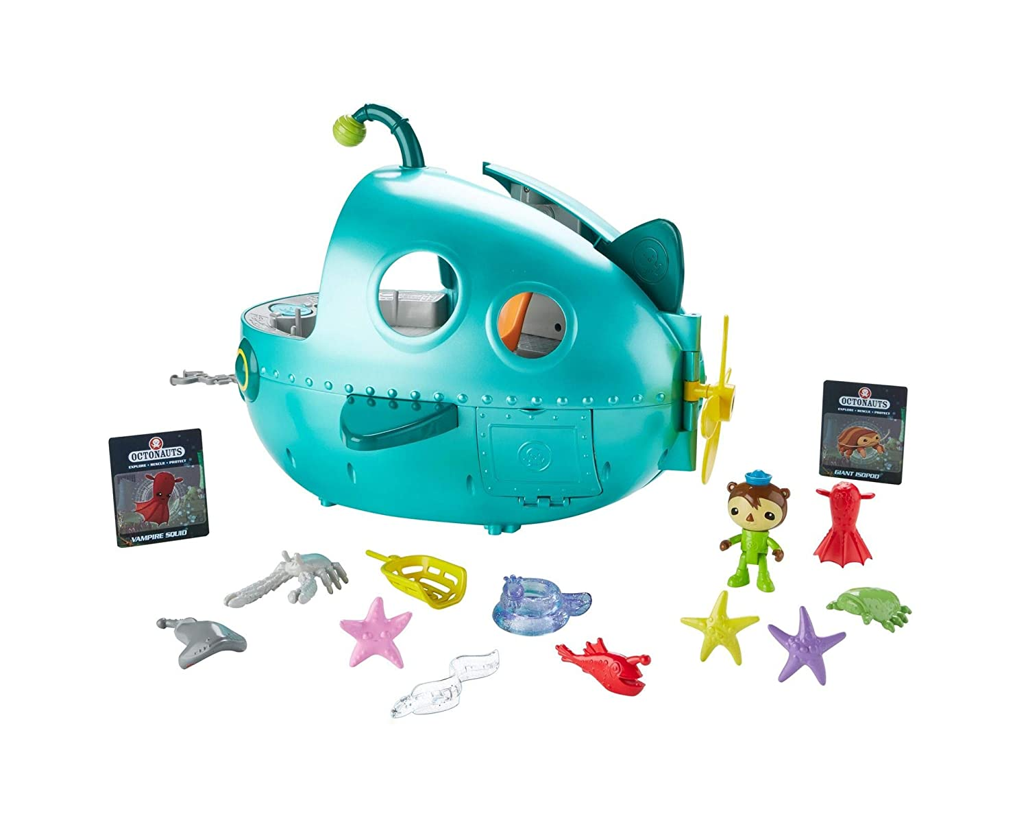 Fisher Price Octonauts Gup-A Deluxe Playset DYT07
