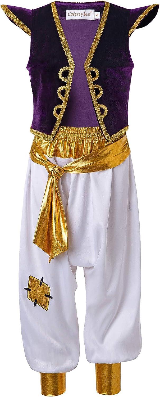 Pettigirl Niños Disfraz De Princesa árabe Disfraz De Rata Calle