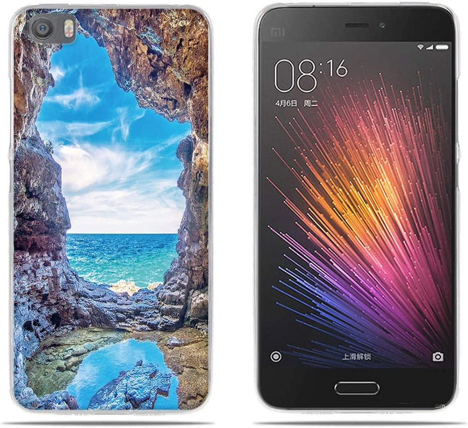 DIKAS Funda para Xiaomi 5 / Mi5/ M5, 3D Realzar Carcasas ...