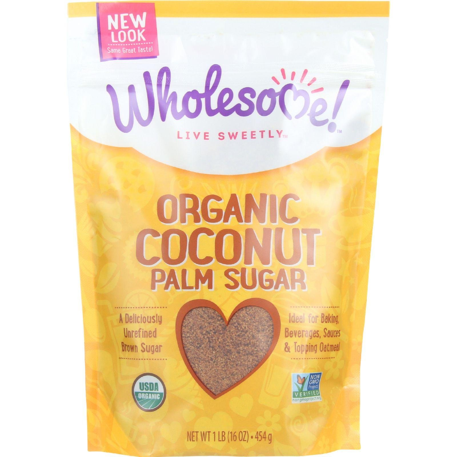 Wholesome Sweeteners Sugar - Organic - Coconut Palm - 16 oz - case of 6