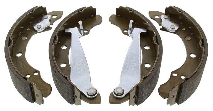 4 Textar Bremsbacken Bremsbackensatz hinten