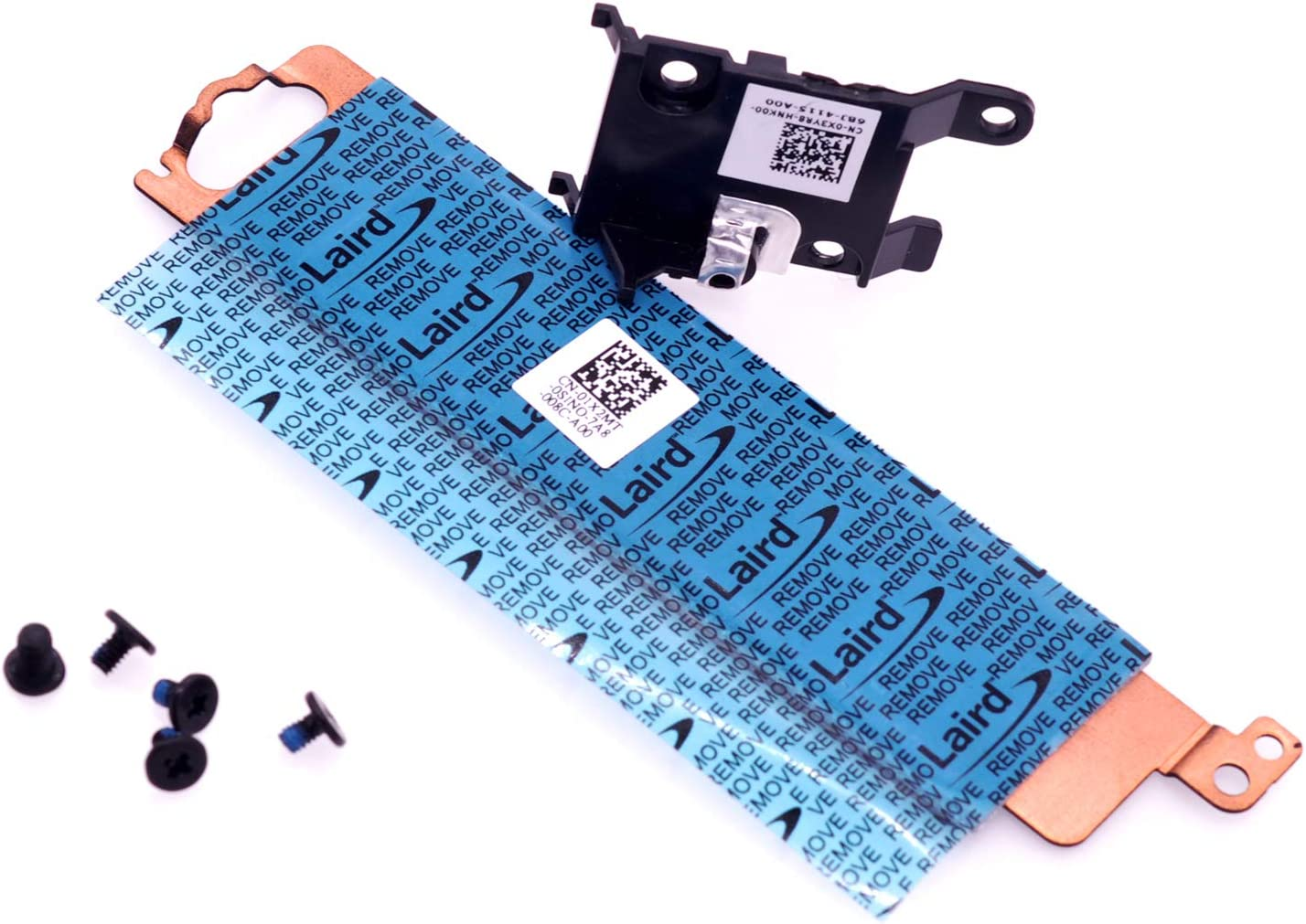 Deal4Go NGFF (2230/2280) M.2 PCIe NVME SSD Cover Bracket 1X2MT with HDD Frame Heatsink X3YR8 for Dell Latitude E5470 E5570 E5270 Precision M3510