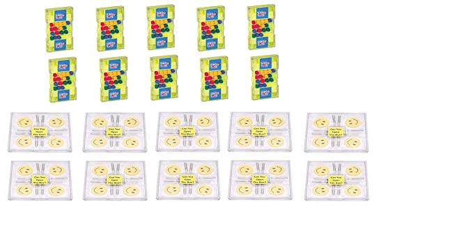 Virgo Toys Matchup & Brain Lock (Combo) - Pack of 10