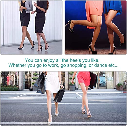 2pair//lot Cloth Foot Care Cushion High Heel Insoles Anti-Slip Half Shoe Pads QY
