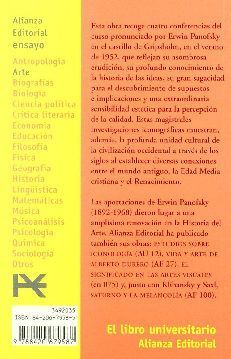 Renacimiento y renacimientos en el arte occidental El Libro Universitario - Ensayo: Amazon.es: Erwin Panofsky, María Luisa Balseiro Fernández-Campoamor: ...