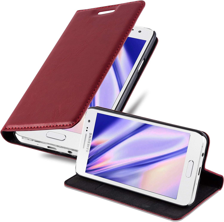 Cadorabo Hülle Für Samsung Galaxy A3 2015 In Apfel Rot Elektronik