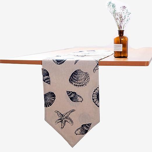 Bandera de mesa de algodón Paño de mesa de té Gabinete de TV Mesa ...