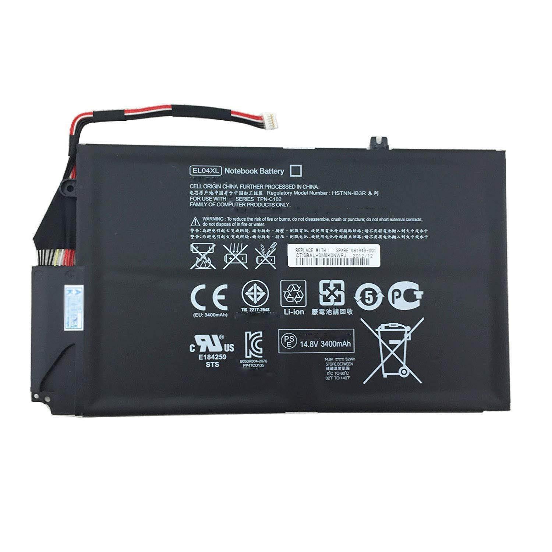 Bateria EL04XL TPN-C102 HSTNN-IB3R HSTNN-UB3R 681879-1C1 681