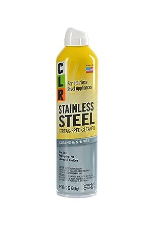 Clr css-12 limpiador de acero inoxidable, 12 oz Aerosol ...