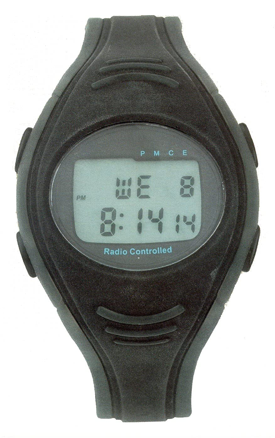 amazon com radio controlled digital watch watches rh amazon com Silicon Scientific Watch for Men Best Radio Controlled Solar Watch