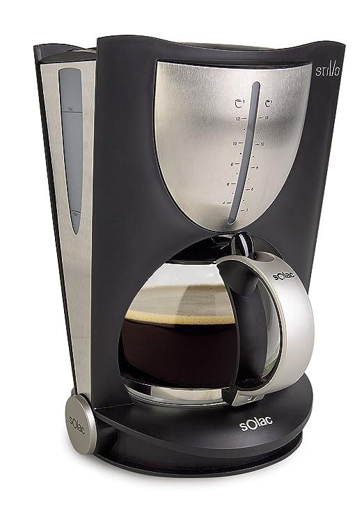 Solac CF4020, Negro, 850 W, 230 V, Acero inoxidable - Máquina de café