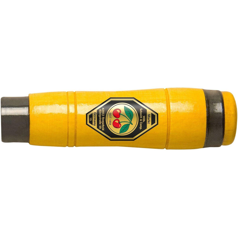 Kirschen 1980-140 - Mango de cincel (madera de haya, forma octogonal, 2 abrazaderas) Cut360 UG 1980110
